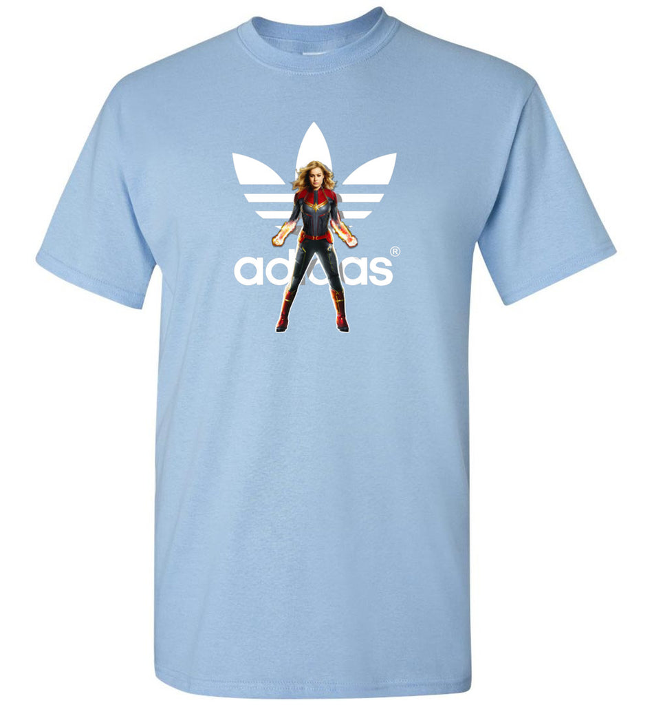 Characters Superheroes Captain Marvel Adidas - T-Shirt
