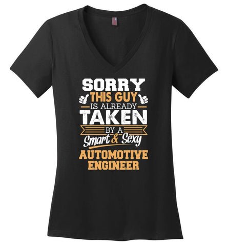 Accountant Shirt Cool Gift for Boyfriend Husband or Lover Ladies V-Neck - Black / M - 11