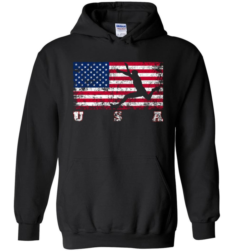 American Flag Athletics - Hoodie - Black / M