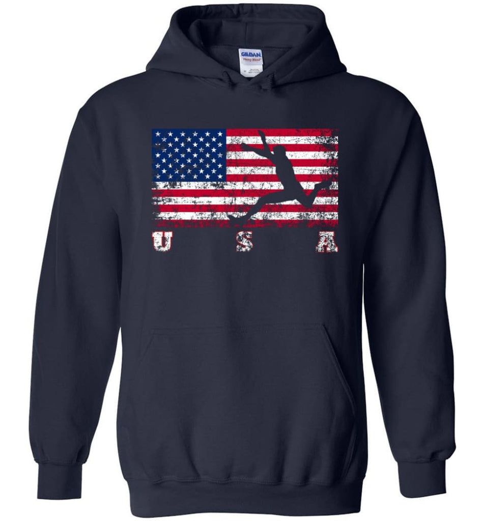 American Flag Athletics - Hoodie - Navy / M