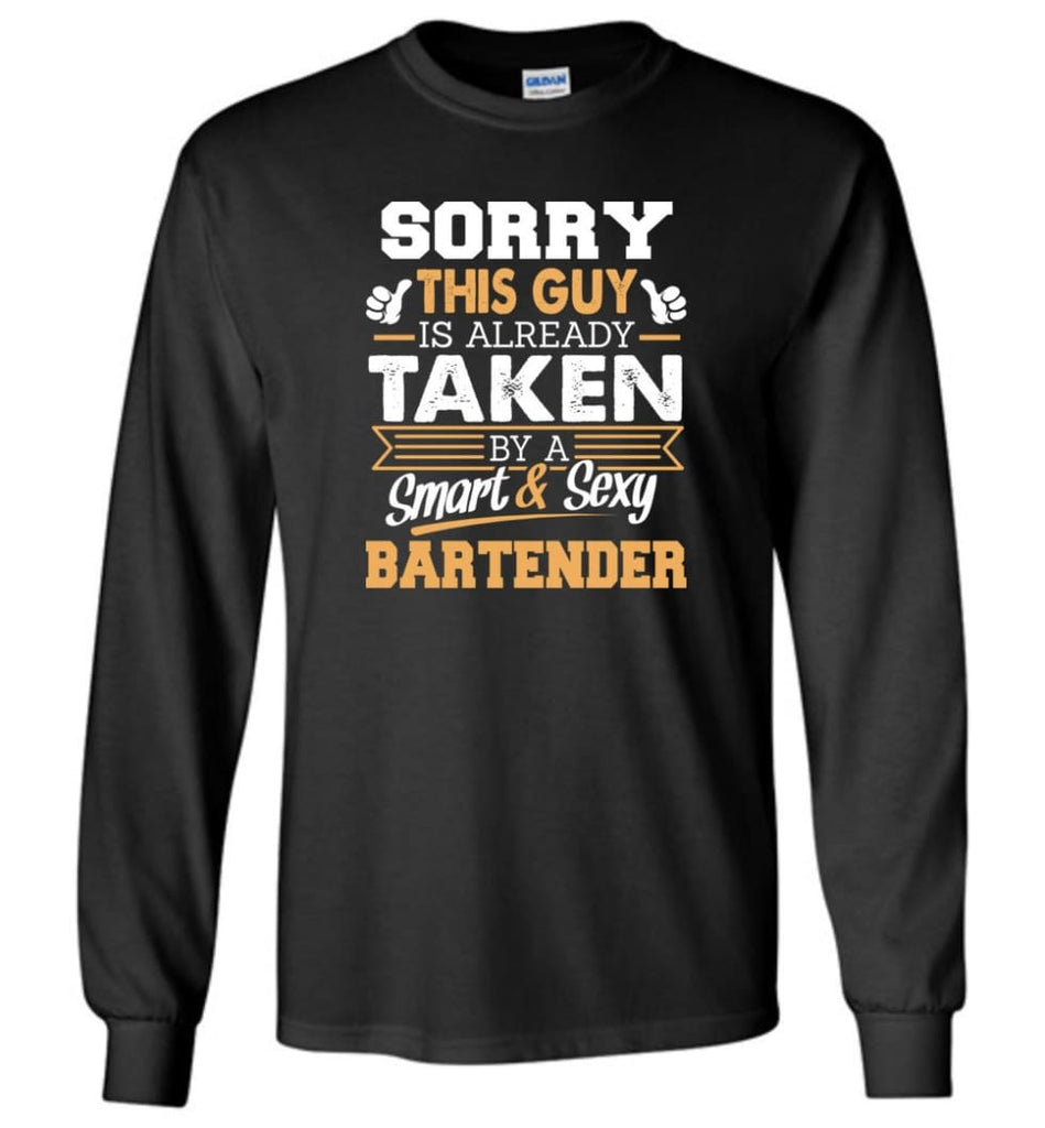 Bartender Shirt Cool Gift For Boyfriend Husband Long Sleeve - Black / M