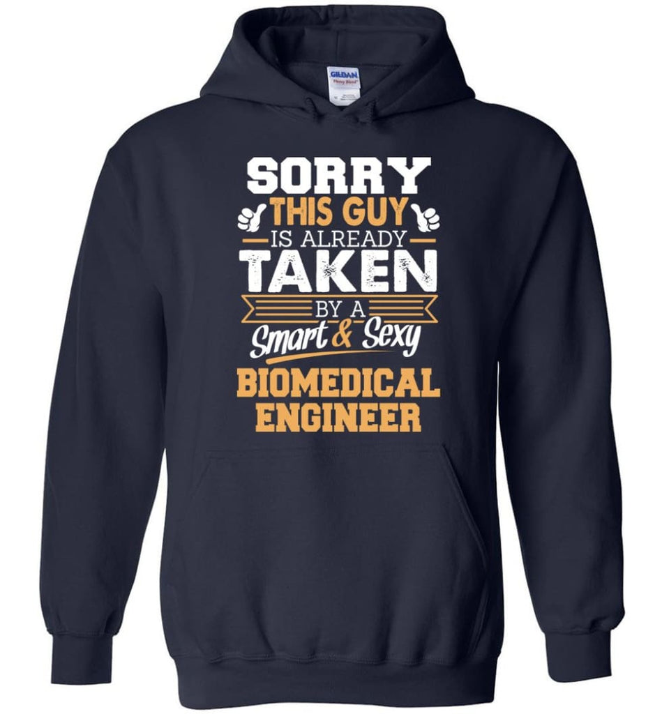 Biomedical Engineer Shirt Cool Gift for Boyfriend Husband or Lover - Hoodie - Navy / M