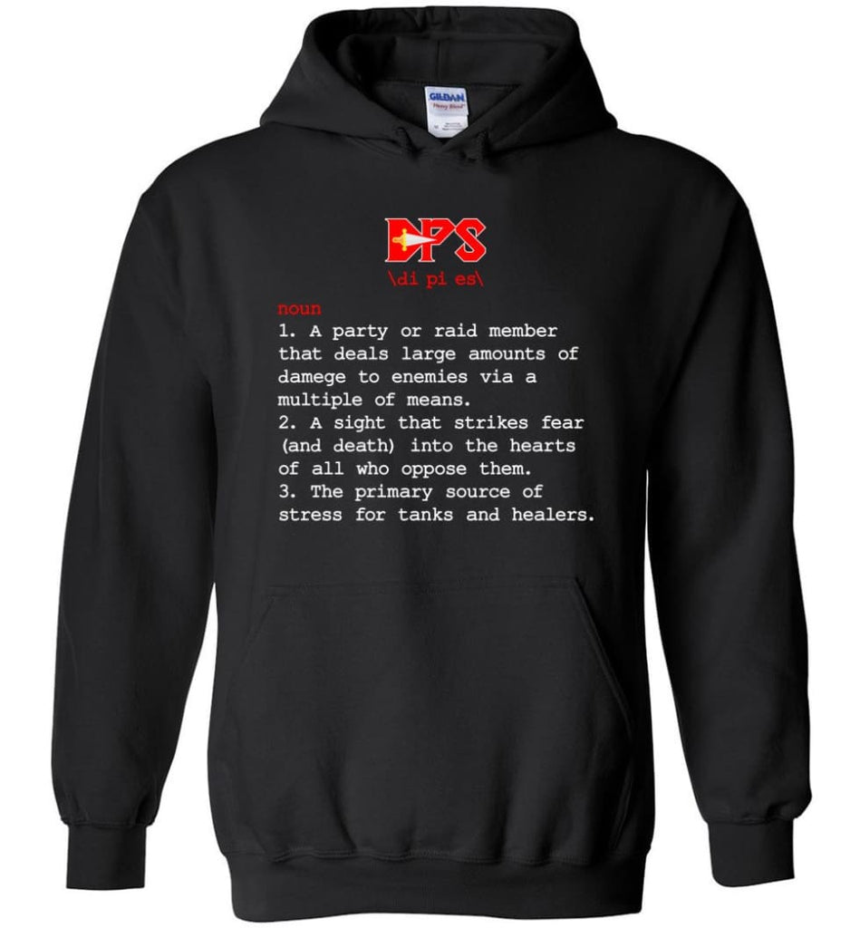 Dps Definition Dps Meaning - Hoodie - Black / M