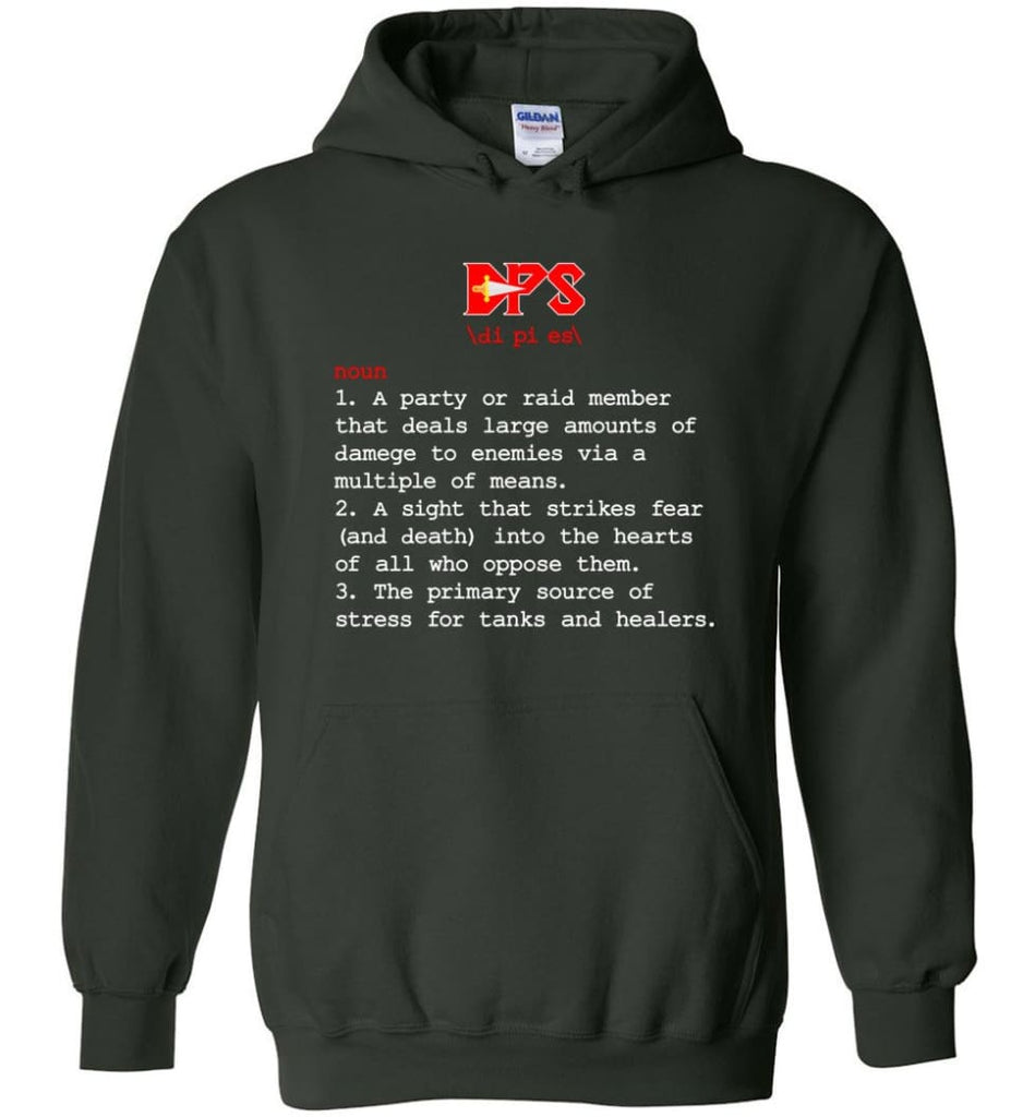 Dps Definition Dps Meaning - Hoodie - Forest Green / M