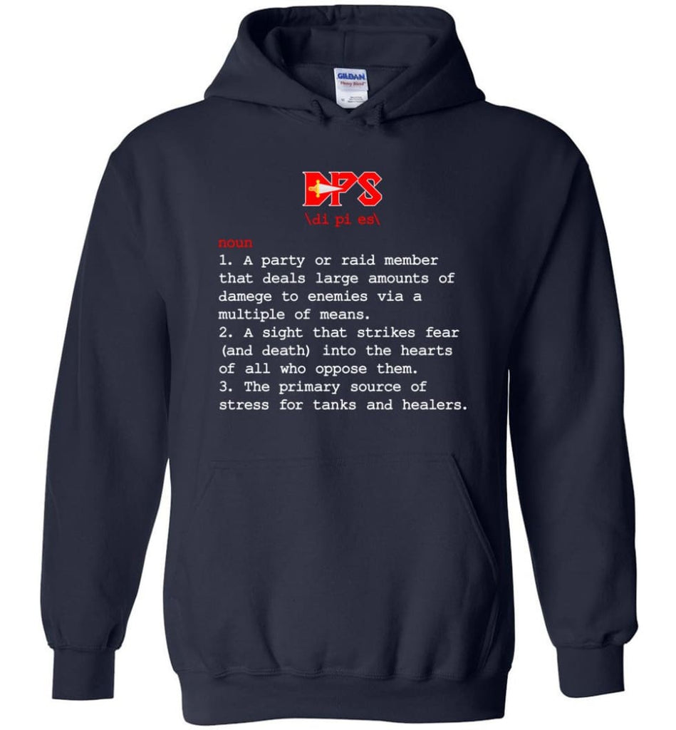 Dps Definition Dps Meaning - Hoodie - Navy / M
