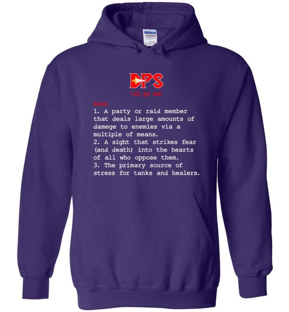 Dps Definition Dps Meaning - Hoodie - Purple / M