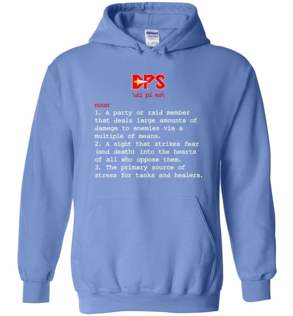 Dps Definition Dps Meaning Hoodie - Carolina Blue / M