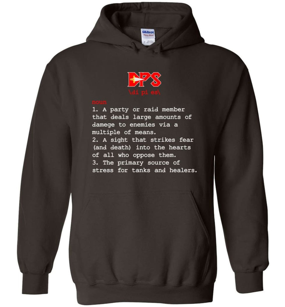 Dps Definition Dps Meaning Hoodie - Dark Chocolate / M