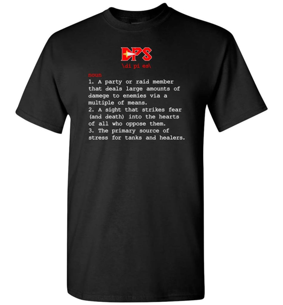 Dps Definition Dps Meaning - Short Sleeve T-Shirt - Black / S