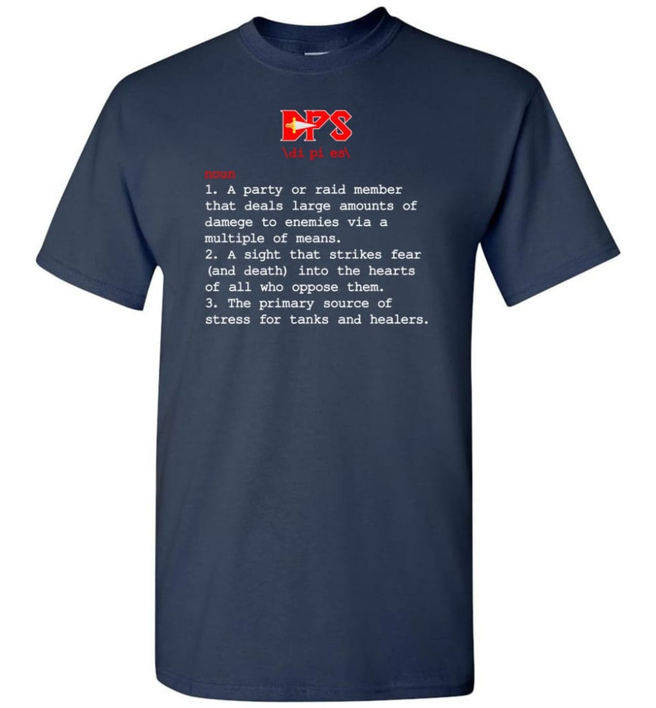 Dps Definition Dps Meaning - Short Sleeve T-Shirt - Navy / S