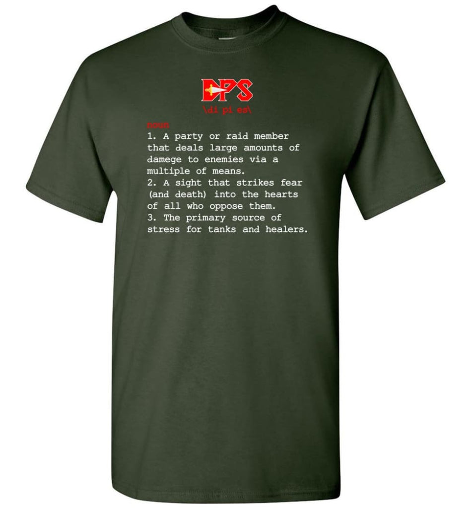 Dps Definition Dps Meaning T-Shirt - Forest Green / S