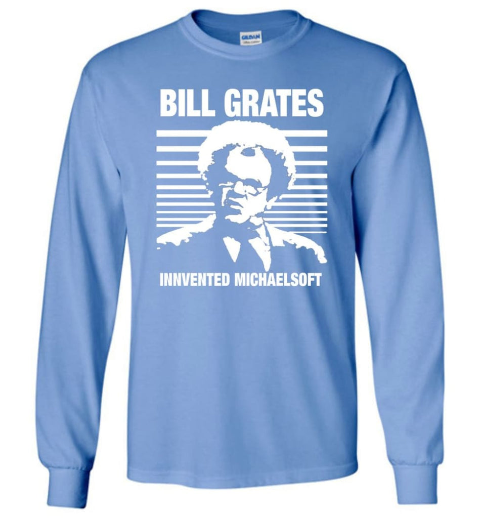 Vintage Retro T-Shirt Bill GRATES Invented MICHAELSOFT