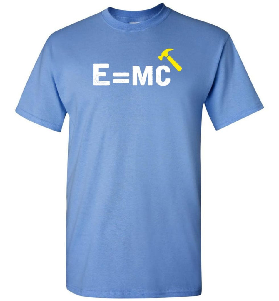 E Mc Hamme Funny Math T-Shirt - Carolina Blue / S