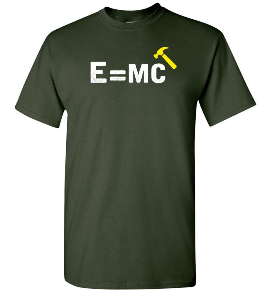 E= Mc Hamme T-Shirt - Forest Green / S