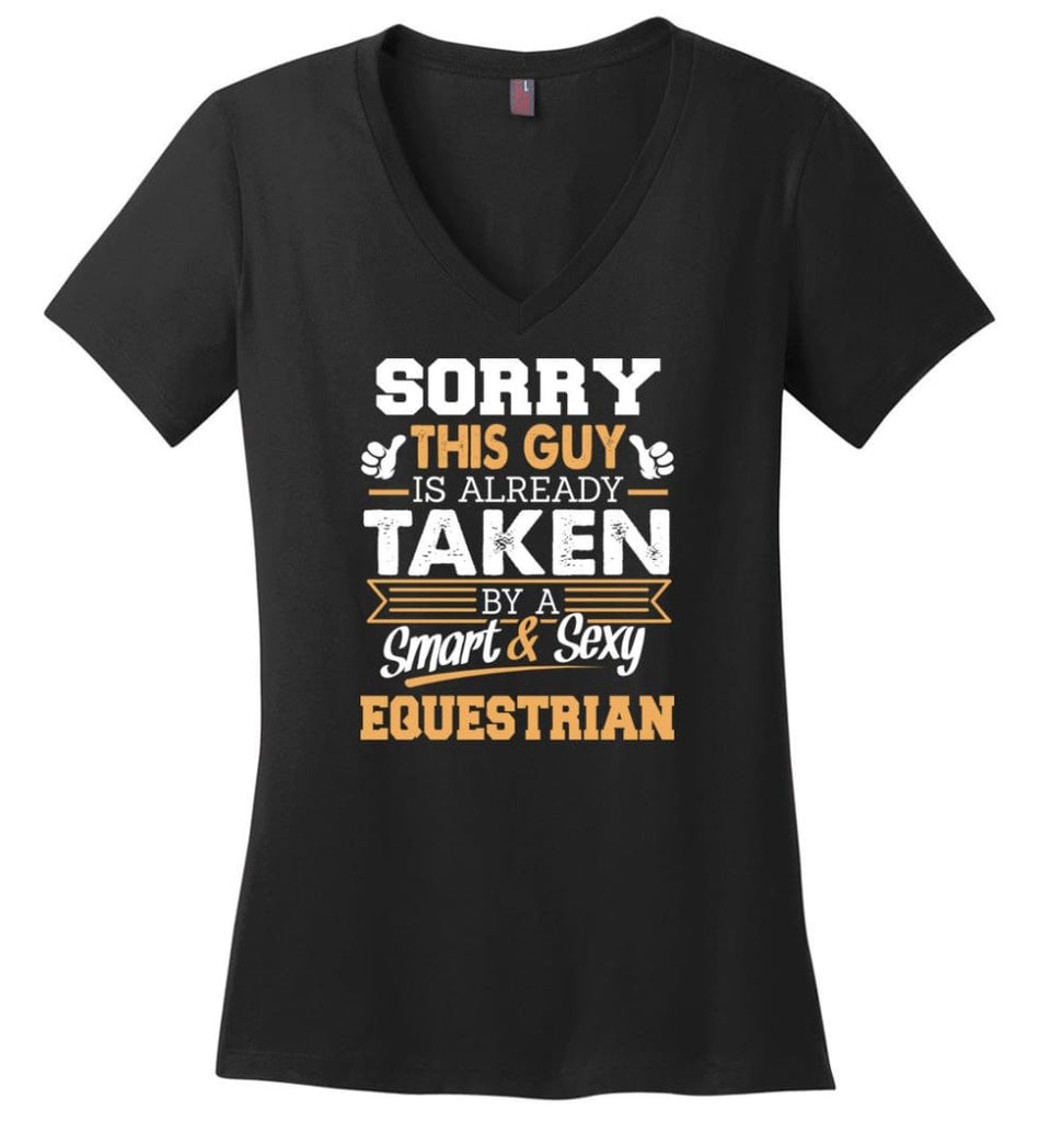 Electronic Engineer Shirt Cool Gift for Boyfriend Husband or Lover Ladies V-Neck - Black / M - 11