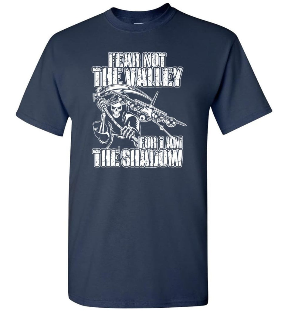 Fear Not The Valley For I Am The Shadow Hoodie T shirt Sweater - T-Shirt - Navy / S