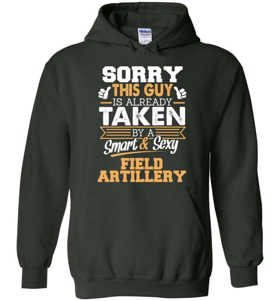 Field Artillery Shirt Cool Gift For Boyfriend Husband Hoodie - Forest Green / M