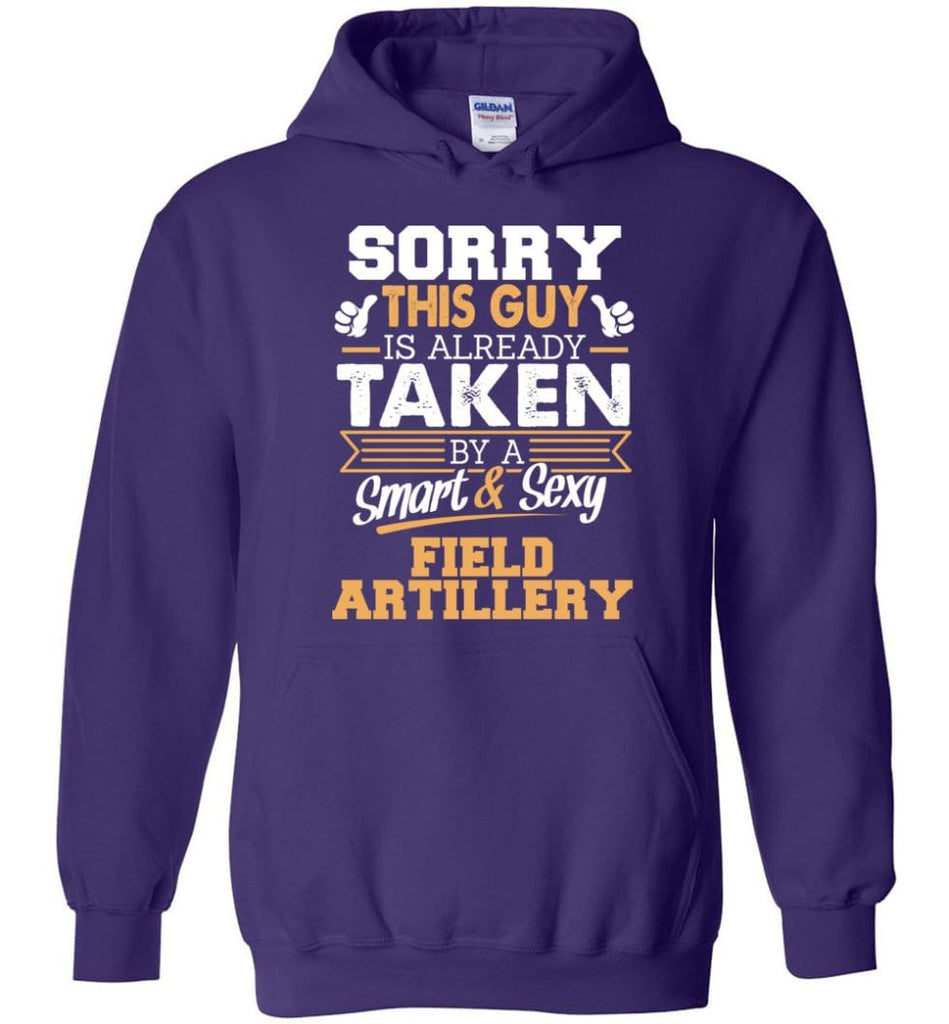 Field Artillery Shirt Cool Gift For Boyfriend Husband Hoodie - Purple / M