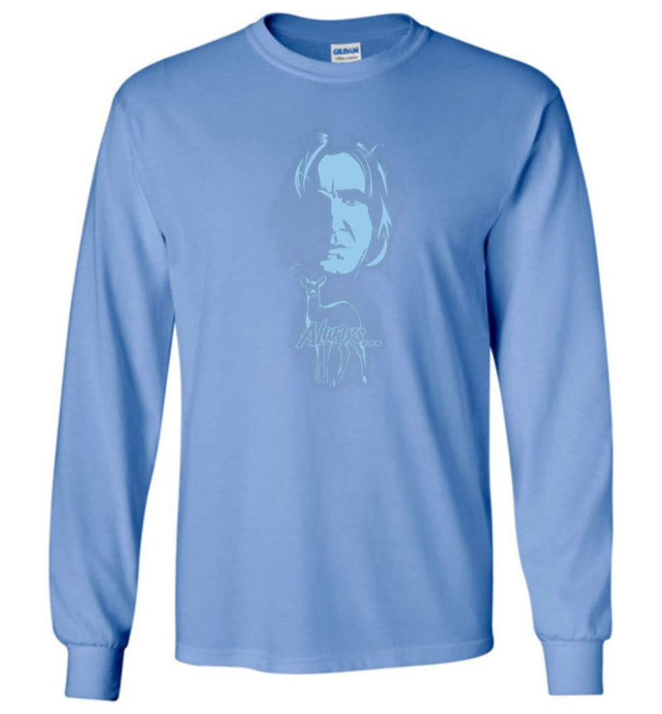 Harry Potter Snape Always Shirt Hogwarts Professor Severus Snape Sweater Jacket Hoodie - Long Sleeve T-Shirt - Carolina