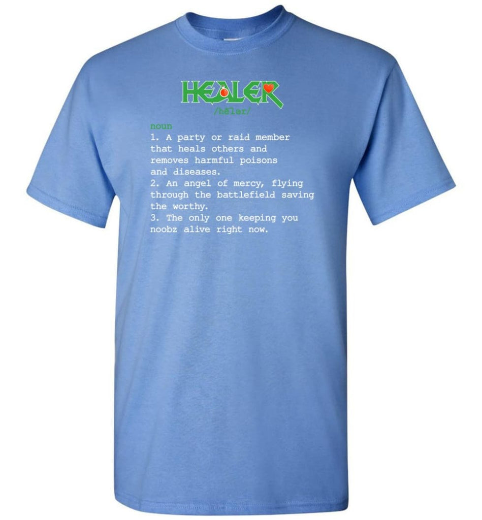 Healer Definition Healer Meaning T-Shirt - Carolina Blue / S