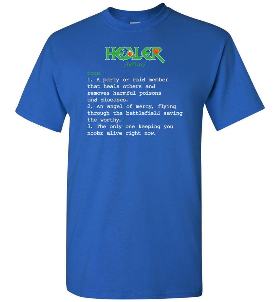 Healer Definition Healer Meaning T-Shirt - Royal / S