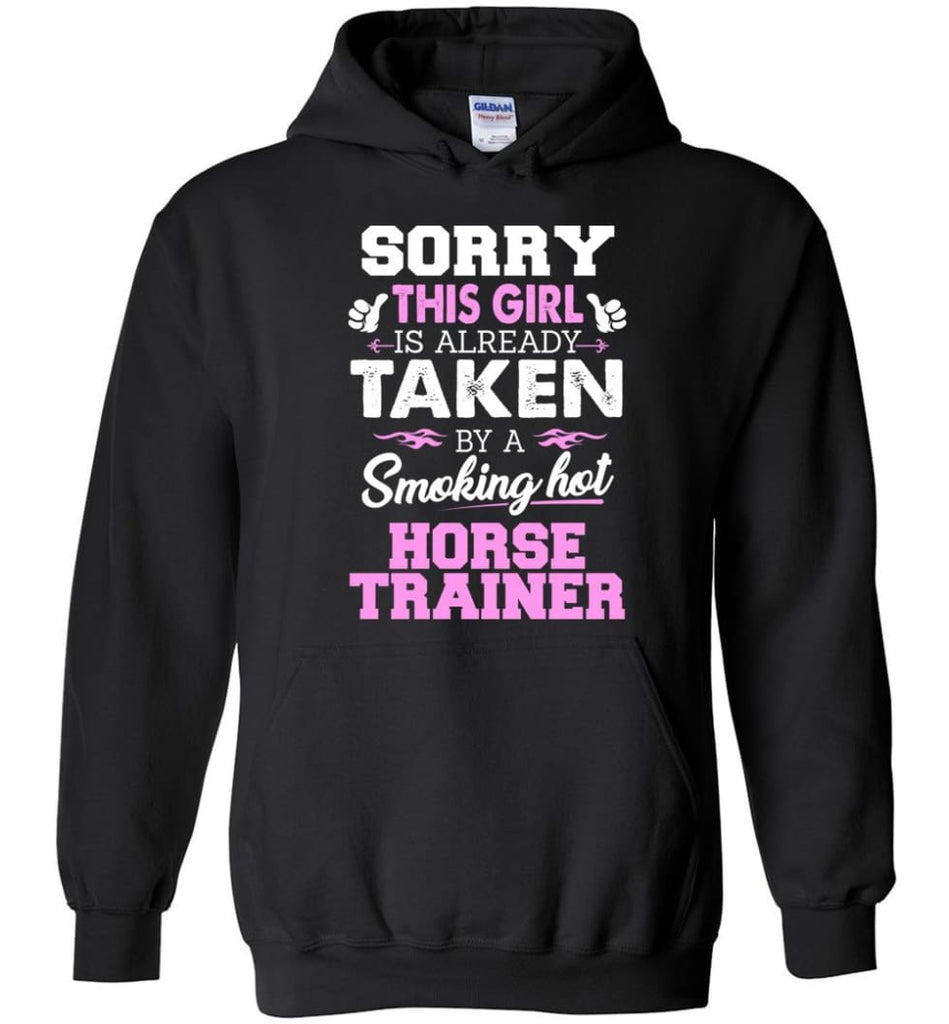 Horse Trainer Shirt Cool Gift For Girlfriend Wife Hoodie - Black / M