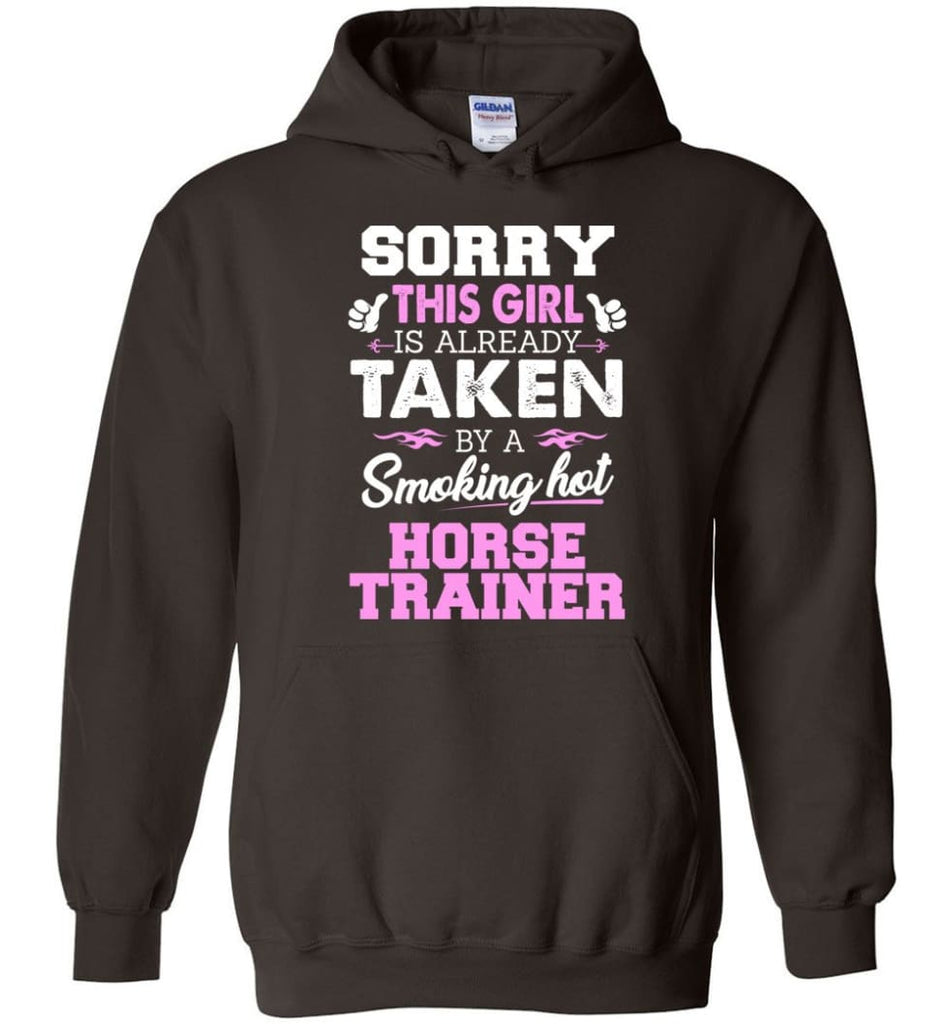 Horse Trainer Shirt Cool Gift For Girlfriend Wife Hoodie - Dark Chocolate / M