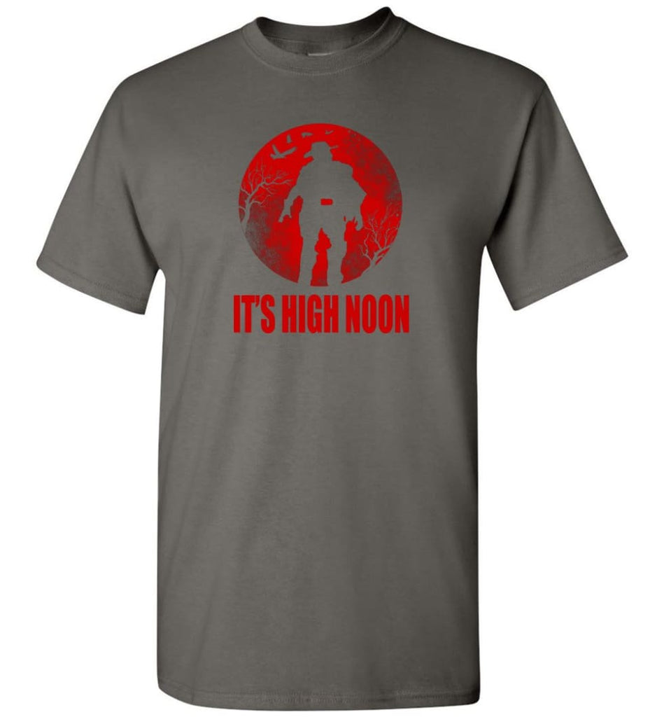 It's High Noon Somewhere in the World t shirt McCree Shirt Overwatch Shirt - T-Shirt - Charcoal / S