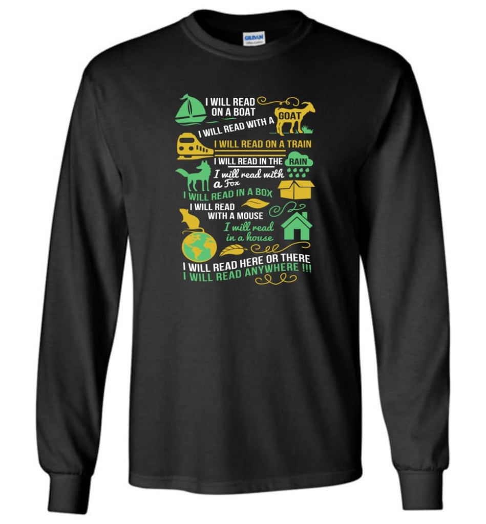 Life Is Good Book Lovers Shirt I Love Reading T Shirt The Book Was Better Shirt - Long Sleeve T-Shirt - Black / M