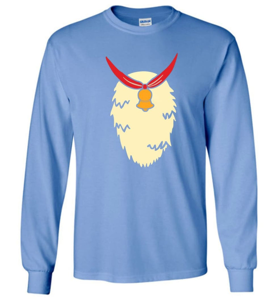 Reindeer Ugly Christmas Sweaters Funny Xmas Jumpers Reindeer Xmas Sweater T Shirt Hoodie Long Sleeve - Carolina Blue / M
