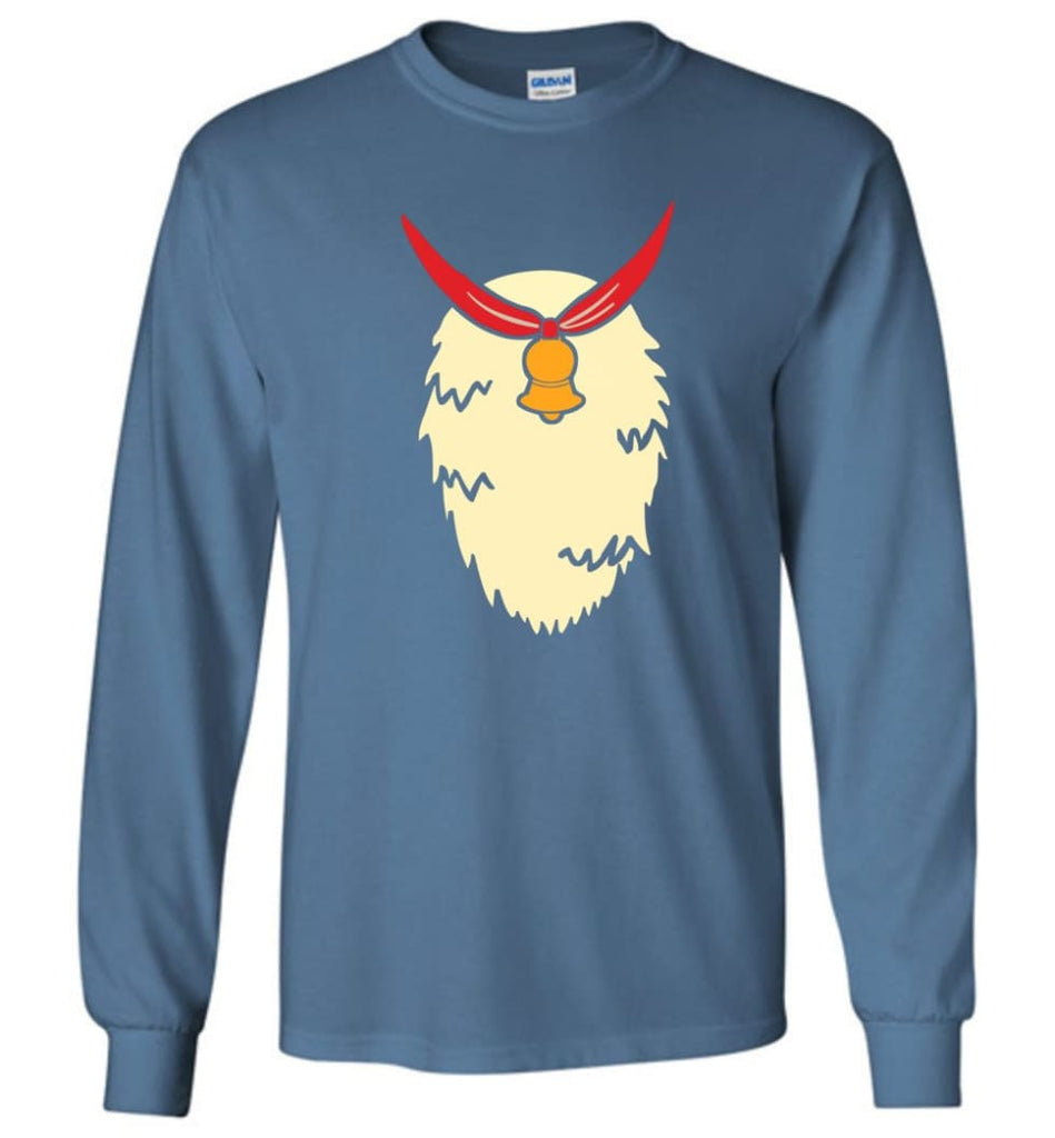 Reindeer Ugly Christmas Sweaters Funny Xmas Jumpers Reindeer Xmas Sweater T Shirt Hoodie Long Sleeve - Indigo Blue / M