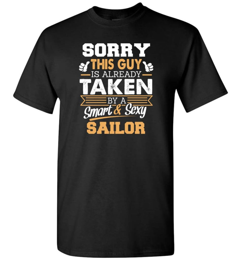 Sailor Shirt Cool Gift for Boyfriend Husband or Lover - Short Sleeve T-Shirt - Black / S