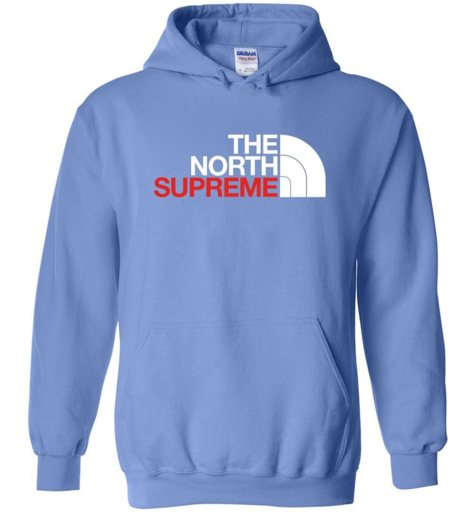 The North Face Supreme - Hoodie - Carolina Blue / M