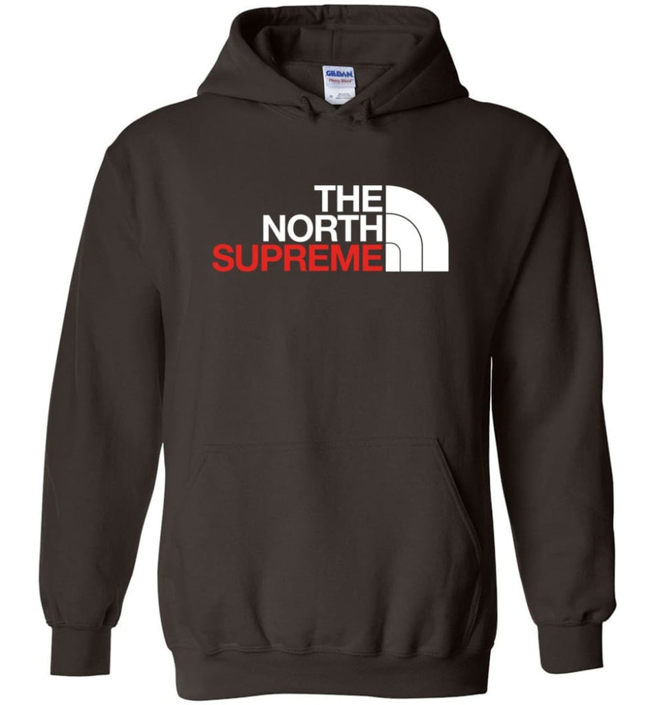 The North Face Supreme - Hoodie - Dark Chocolate / M
