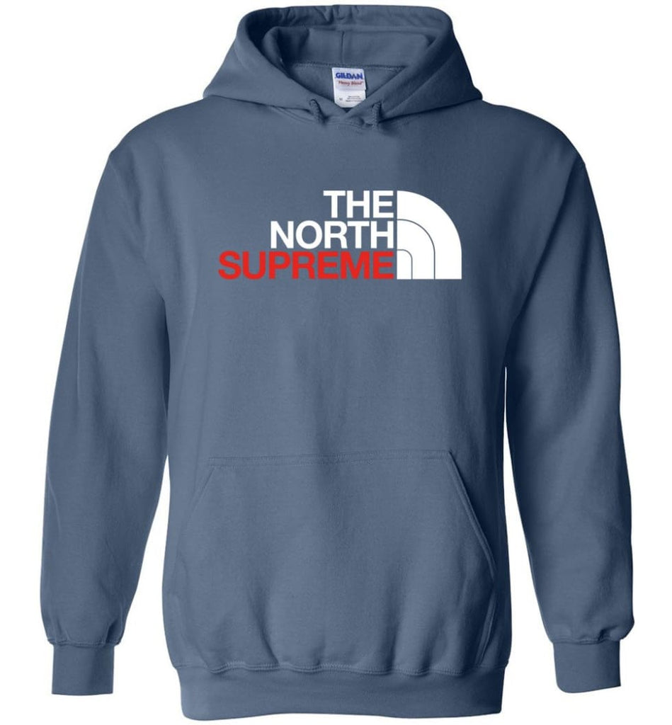 The North Face Supreme - Hoodie - Indigo Blue / M