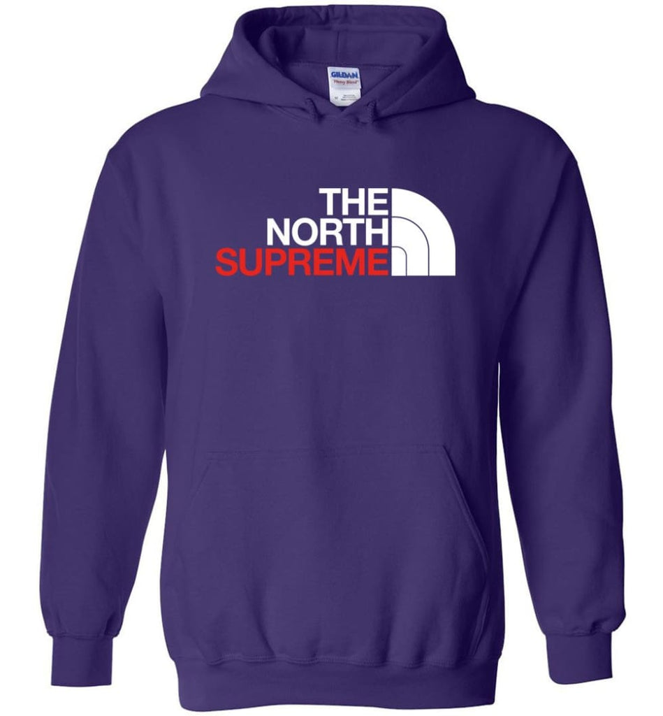 The North Face Supreme - Hoodie - Purple / M