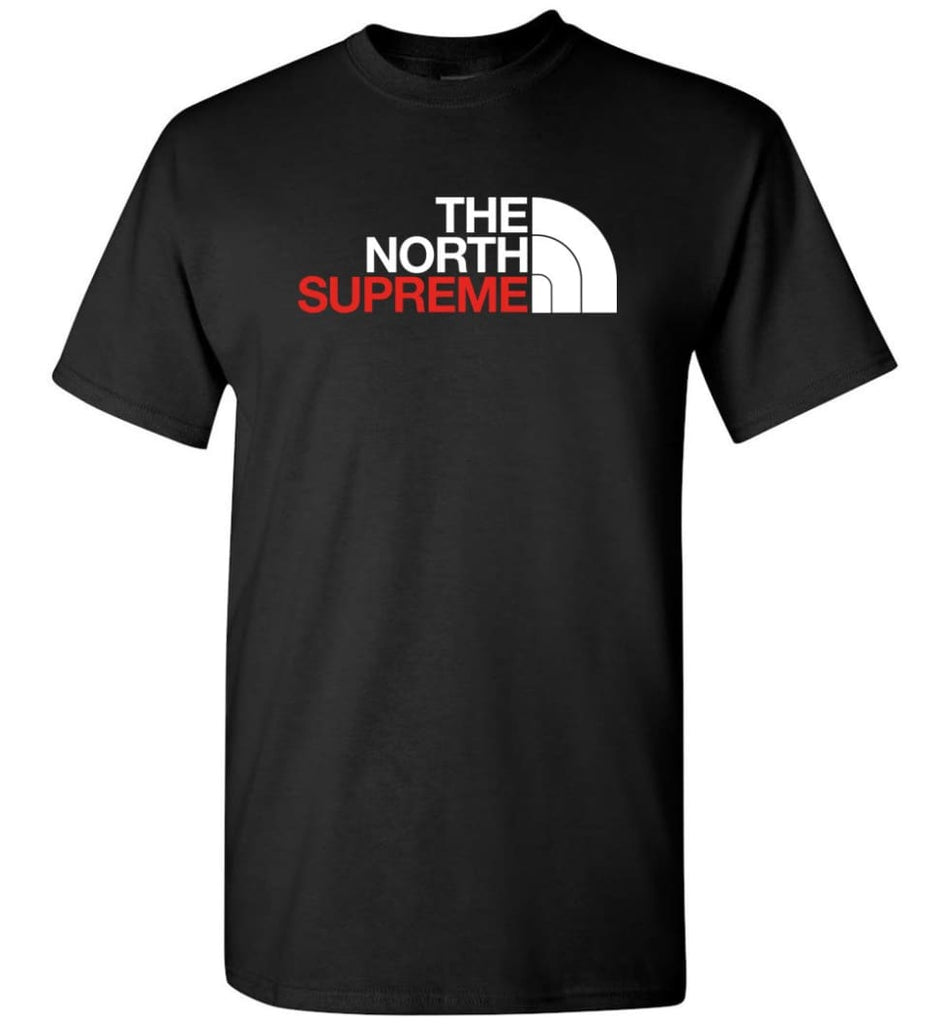 The North Face Supreme - T-Shirt - Black / S