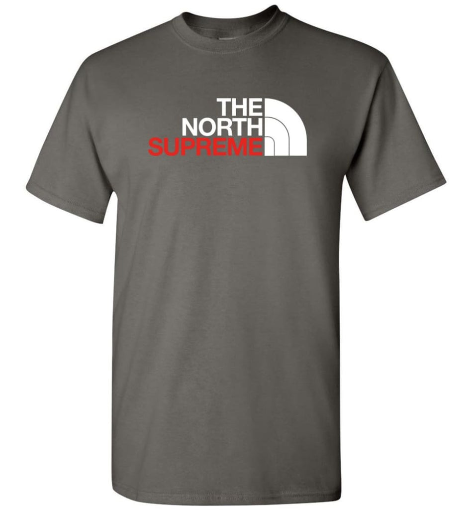 The North Face Supreme - T-Shirt - Charcoal / S