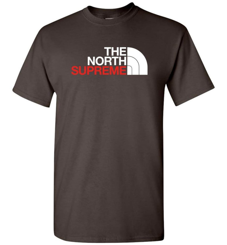 The North Face Supreme - T-Shirt - Dark Chocolate / S