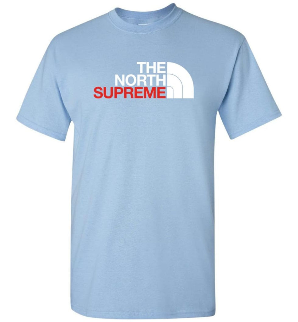 The North Face Supreme - T-Shirt - Light Blue / S