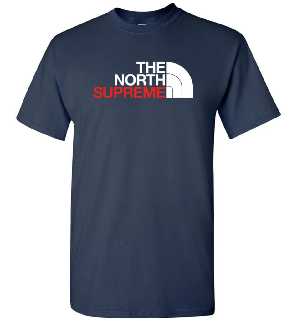 The North Face Supreme - T-Shirt - Navy / S