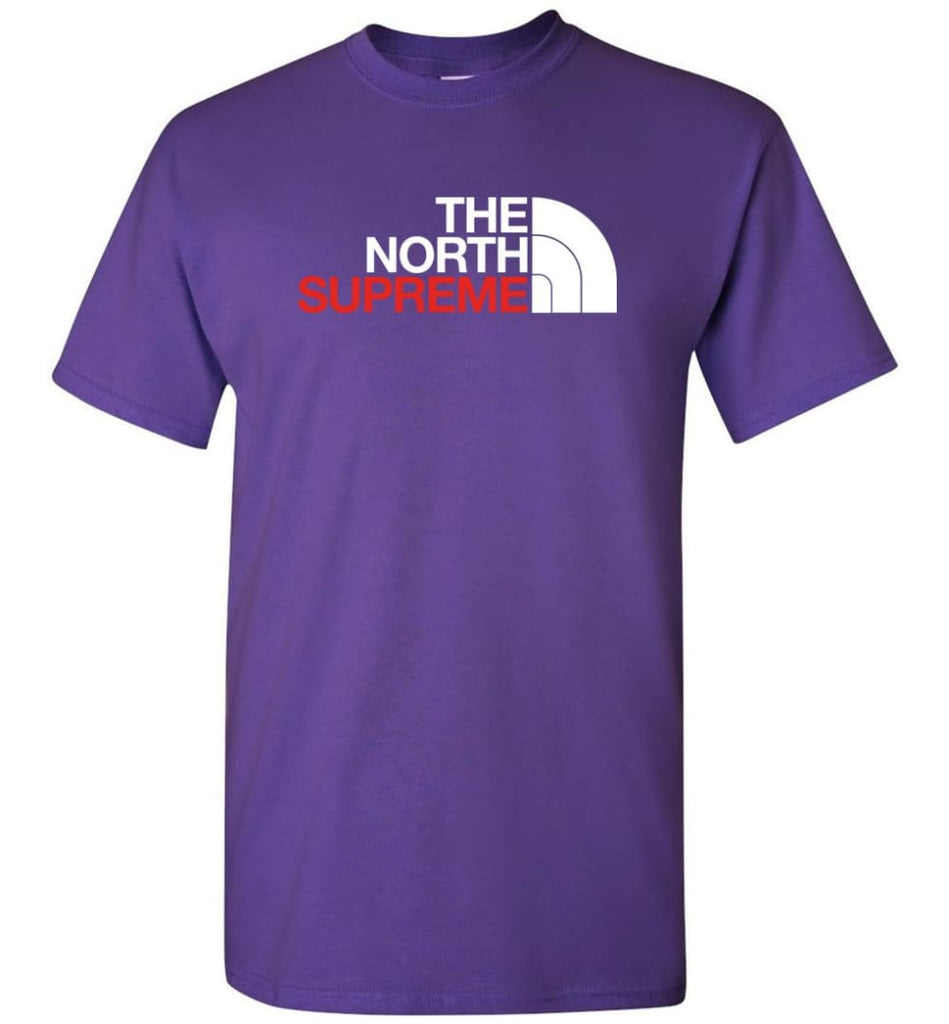The North Face Supreme - T-Shirt - Purple / S