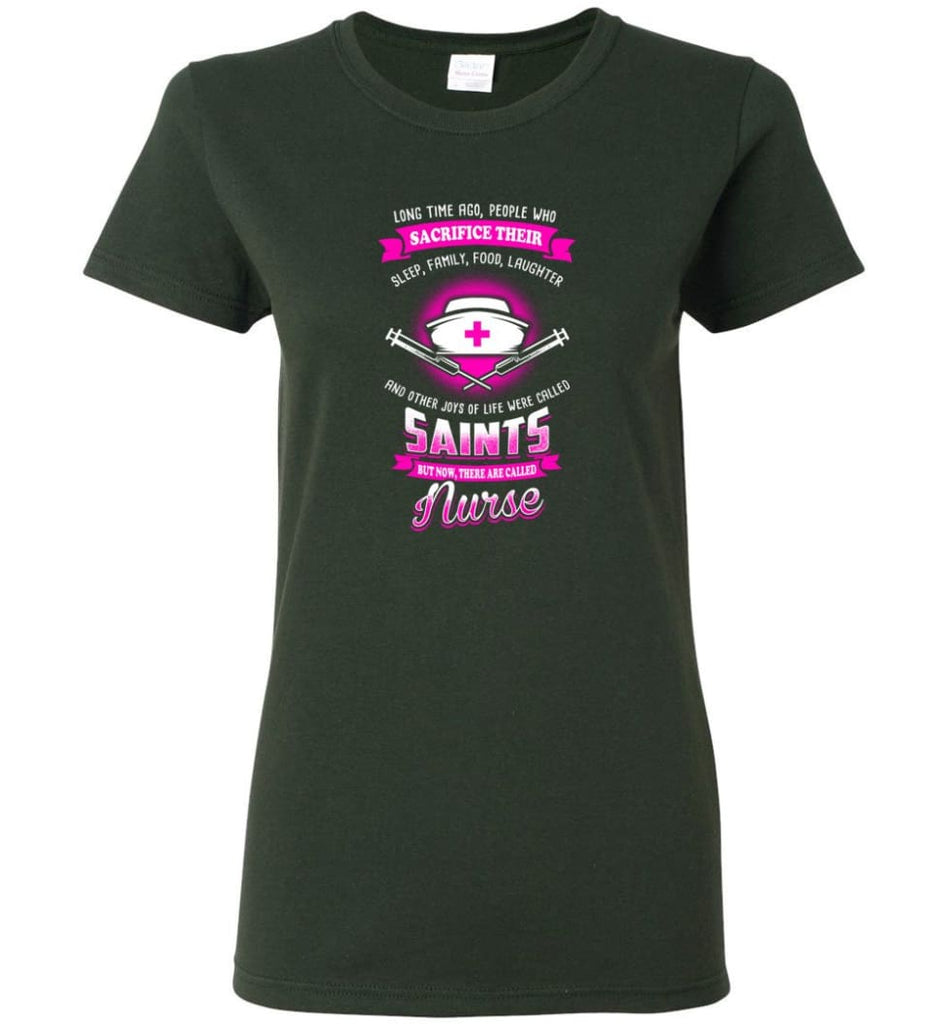 They are called Nurse Shirt Women Tee - Forest Green / M