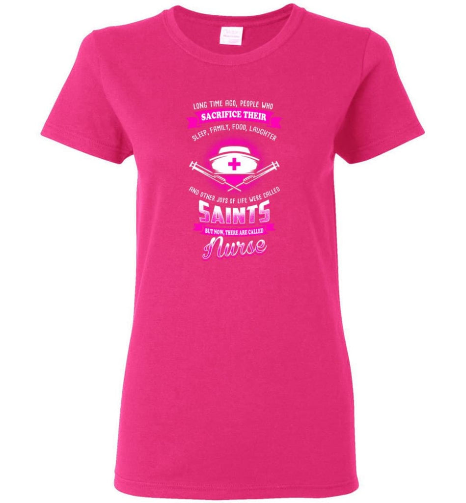 They are called Nurse Shirt Women Tee - Heliconia / M