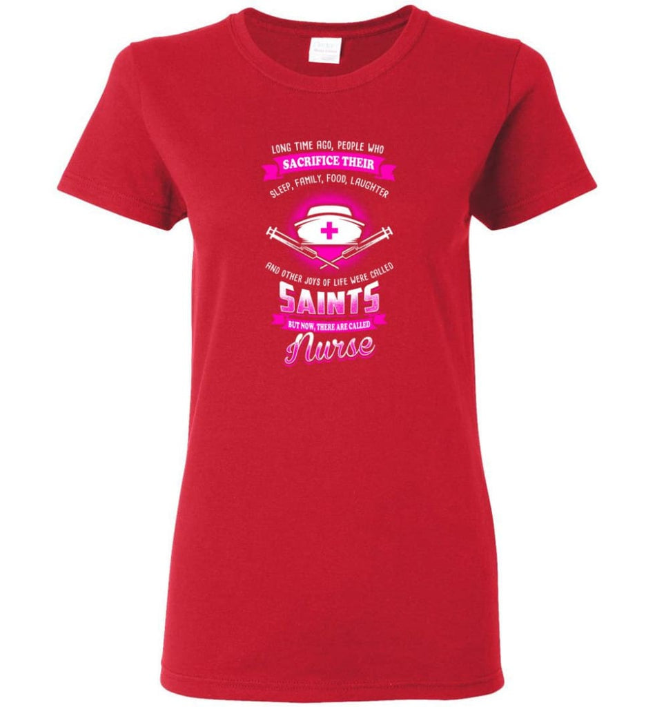 They are called Nurse Shirt Women Tee - Red / M