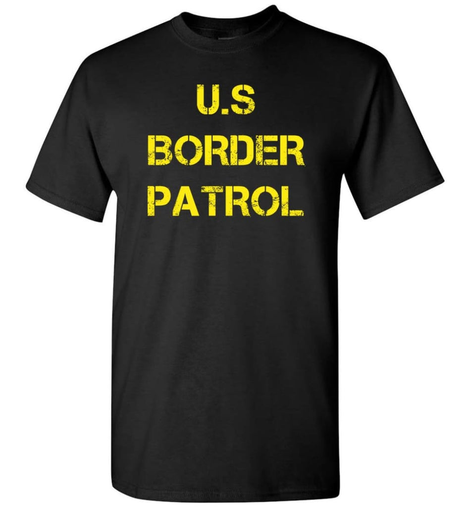 Us Border Patrol T-Shirt - Black / S