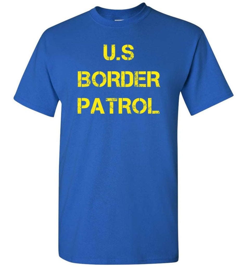 Us Border Patrol T-Shirt - Royal / S
