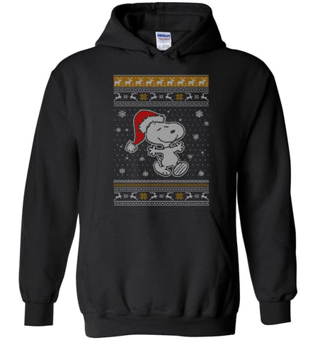 Want A Hug Snoopy Hoodie Sweatshirt Peanuts Snoopy Christmas Sweater Toddler 2017 - Hoodie - Black / M