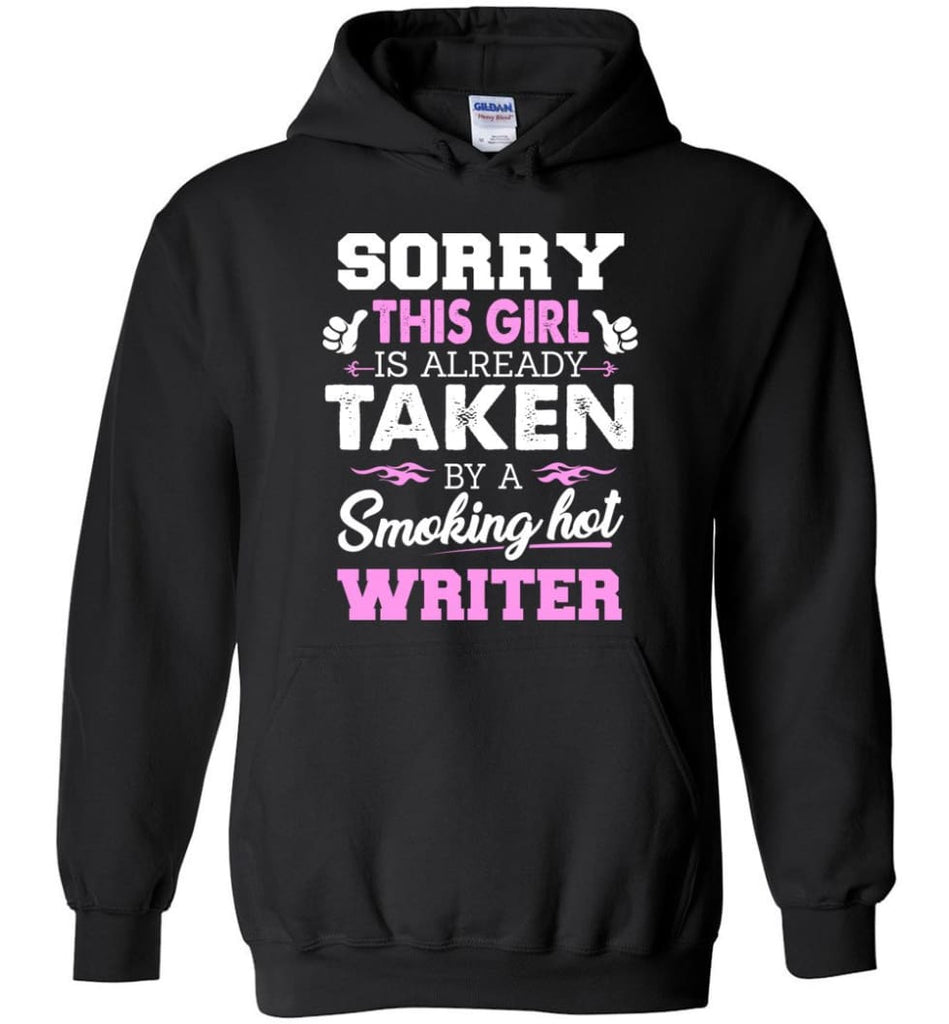 Writer Shirt Cool Gift for Girlfriend Wife or Lover - Hoodie - Black / M