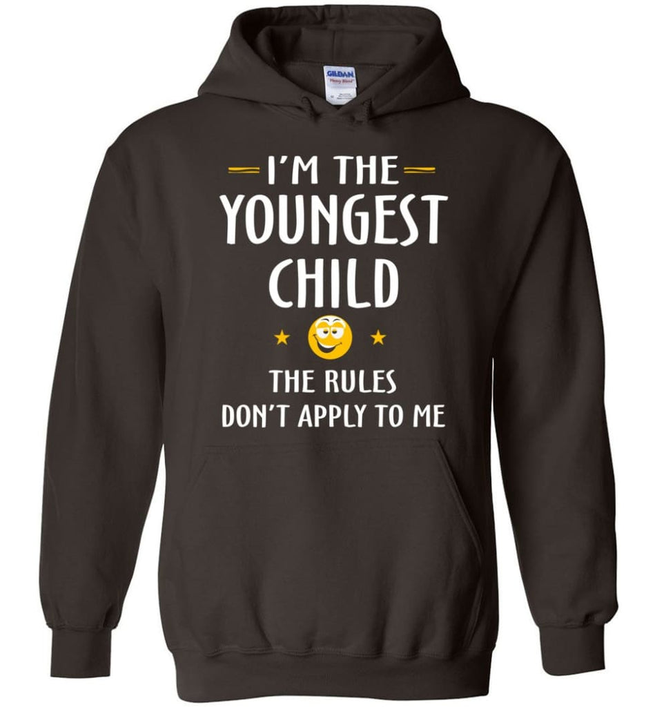 Youngest Child Shirt Funny Gift For Youngest Child Hoodie - Dark Chocolate / M